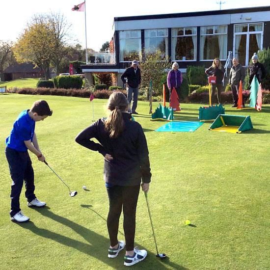 Durham City Golf Club Takes The Sport To New Players 105 9 Bishop Fm